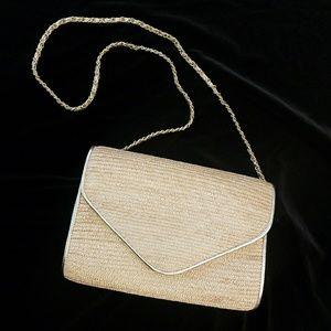 Summer woven purse handmade